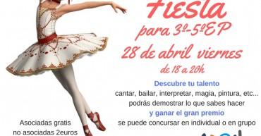 Fiesta 28 abril viernes